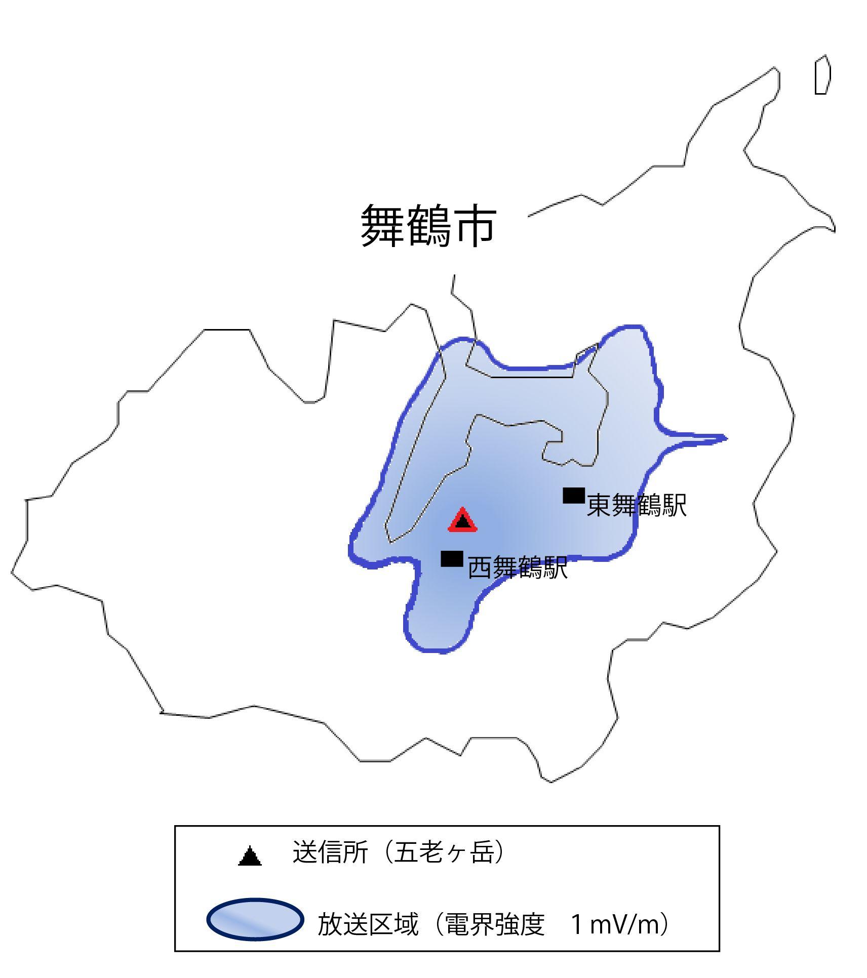 【放送局情報】放送エリアマップ(総務省HPから)