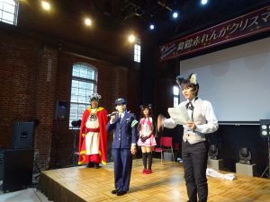 京都防災歌劇団@赤れんがクリスマス2017